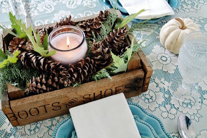 Gorgeous fall tablescape ideas this week from the Inspiration Monday features!