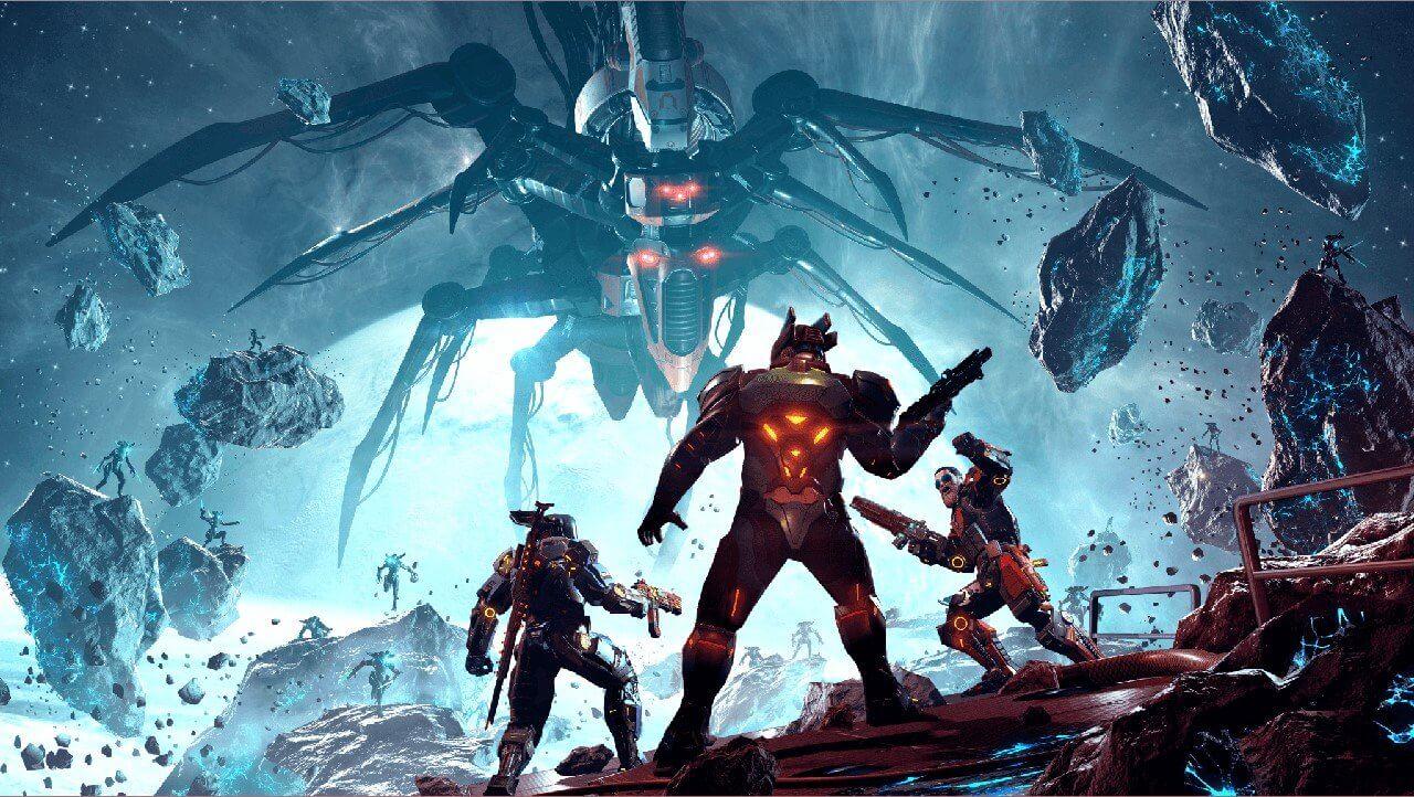أعرض عن Shadowgun Legends انضم إلى معركة الفضاء FPS المثالي