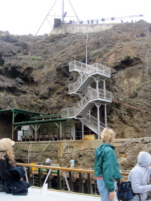 Landing Cove Anacapa Island: Chuck's Adventures: Channel Islands National Park