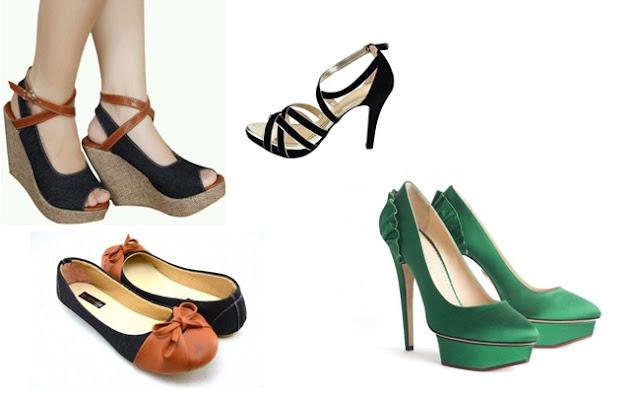 Tips Memilih Sepatu Wanita Sesuai Dengan Bentuk Kaki