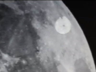 UFO SIGHTINGS DAILY: Giant UFO On Moon Seen With Telescope ...