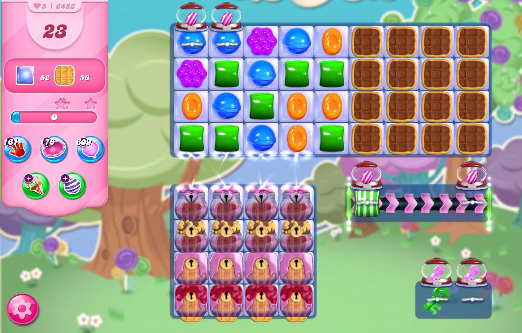 Candy Crush Saga level 6423