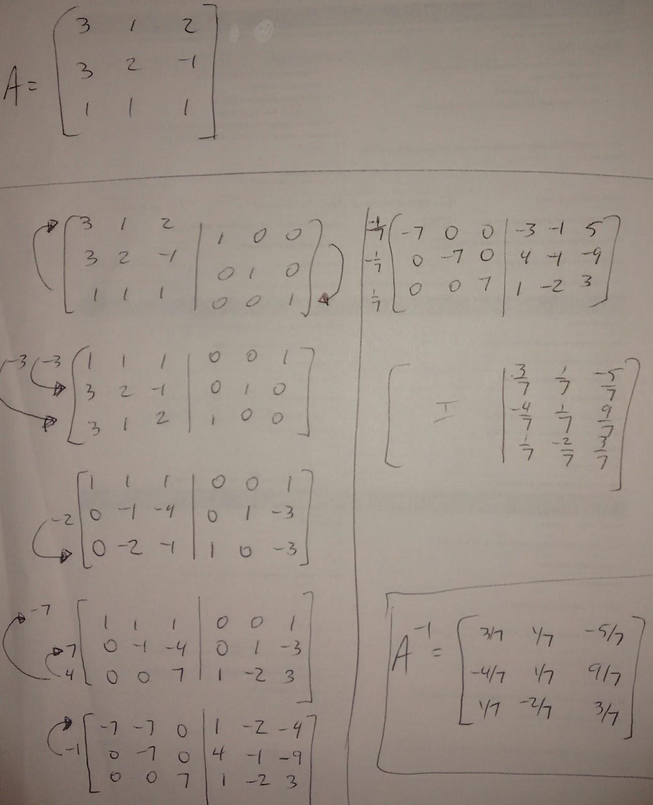 how to find poi algebraically