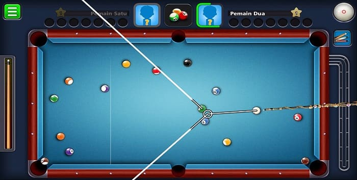 Cara Membuat 8 Ball Pool Garis Panjang