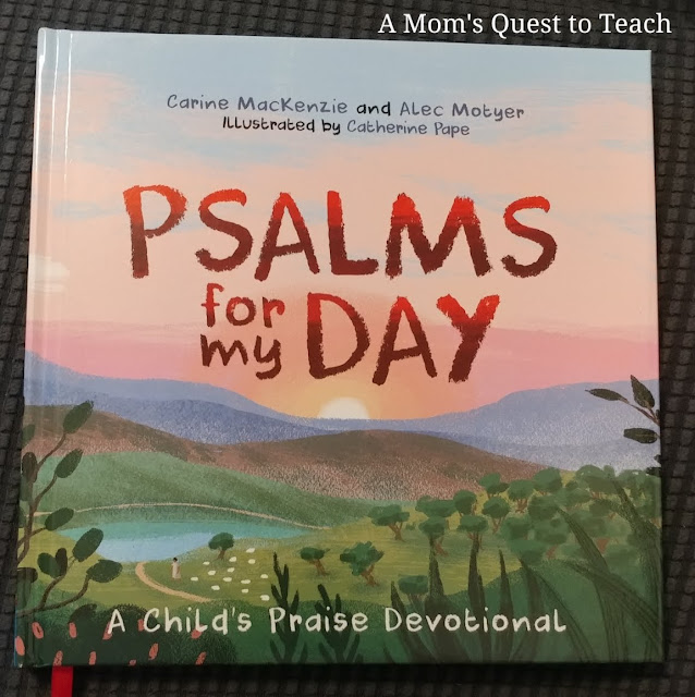 book cover of Psalms for My Day: A Child's Praise Devotional