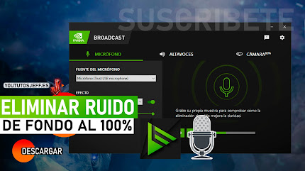 Eliminar Ruido de Fondo al Grabar, Descargar NVIDIA RTX Voice GRATIS