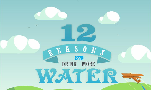 12 Reasons to Drink More Water #infographic