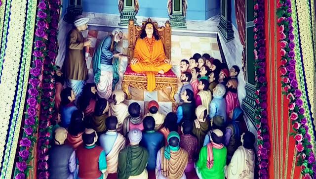 Prem Mandir Vrindavan interior images