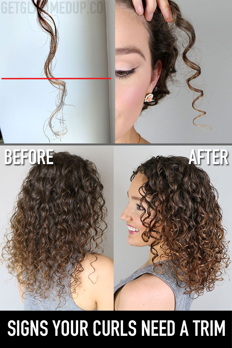 Signs your curls need a trim