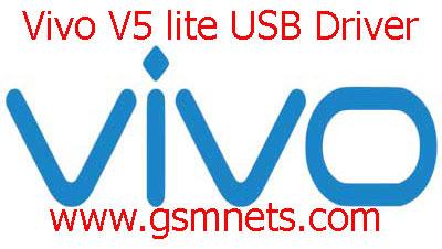 Vivo V5 lite USB Driver Download