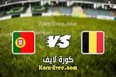 نتيجة مباراة بلجيكا والبرتغال بث مباشر كورة لايف kora live بتاريخ 27-06-2021 يورو 2020