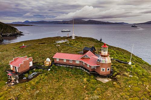 The lighthouse on Cape Horn.