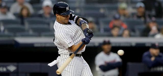 BÉISBOL:  Venezolano Gleyber Torres Arribó a 20 jonrones con los Yankee New York.