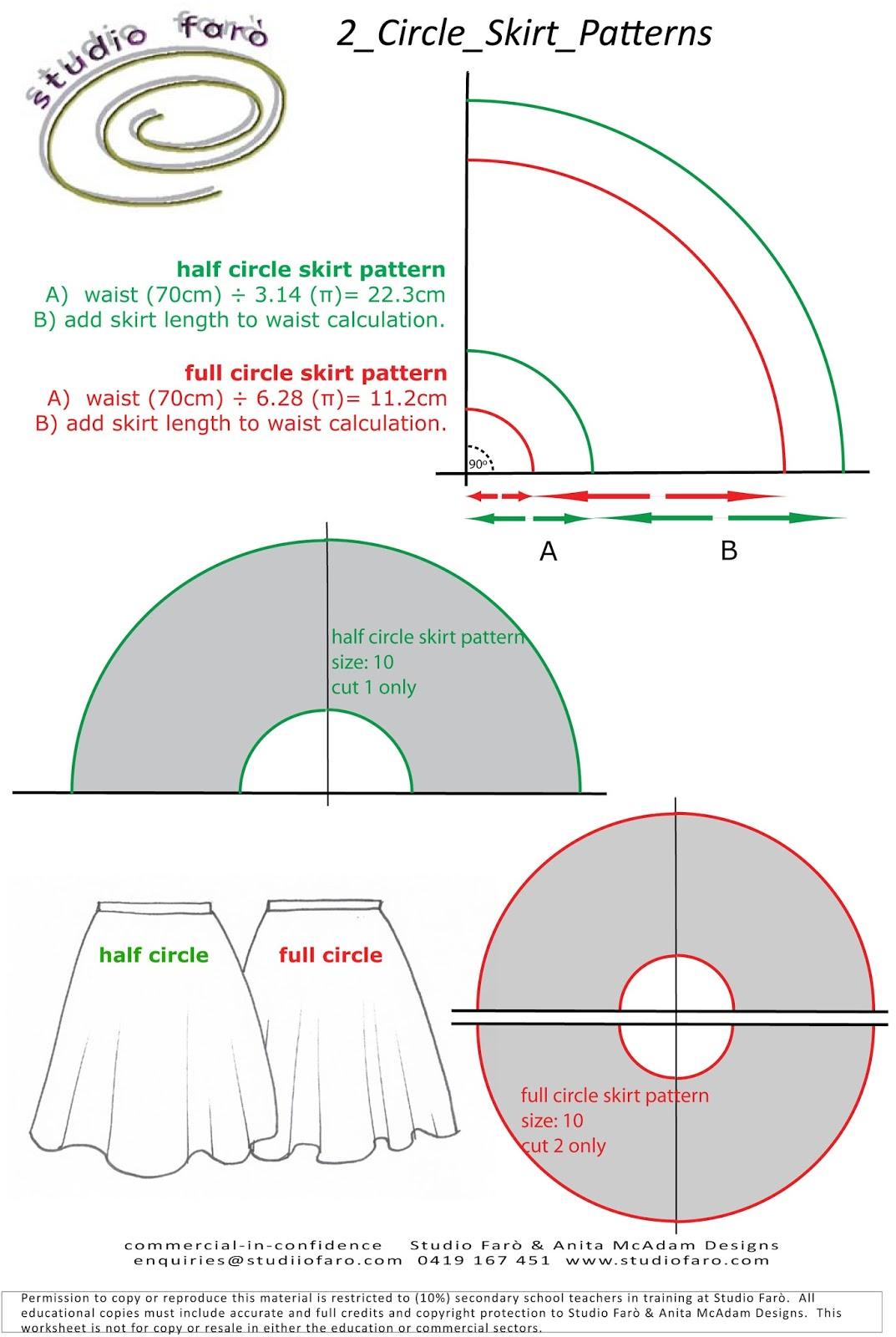 well-suited: Skirt Draft and Pencil Skirt Pattern Worksheet