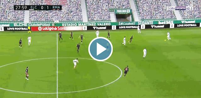 Elche CF vs Real Madrid Live Score