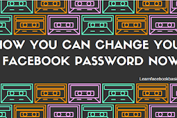 How you can change your Facebook password now