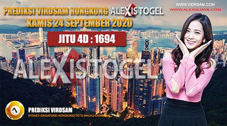 Prediksi Virdsam HK Kamis 24 September 2020