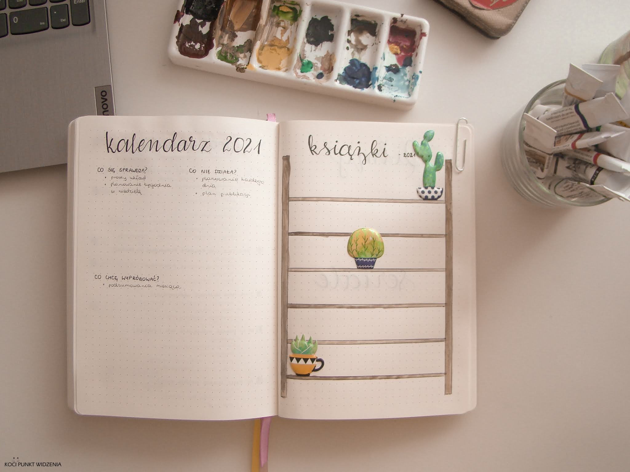 book trakcer bullet journal