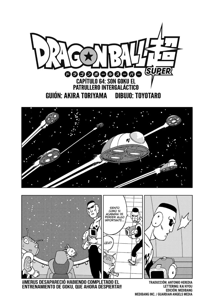 Dragon Ball Super Manga 64 Español