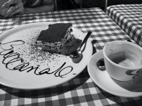 Tiramisu and Espresso in Rome