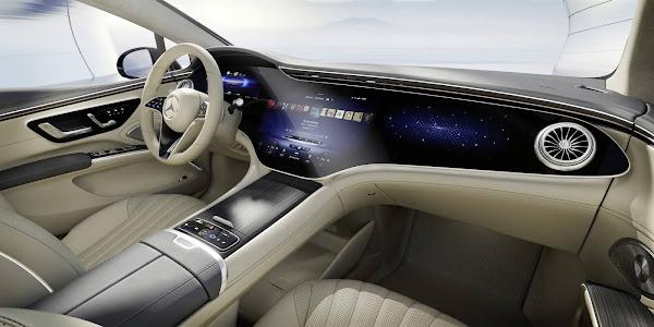 Mercedes-Benz EQS: Classe S elétrico tem mais detalhes revelados