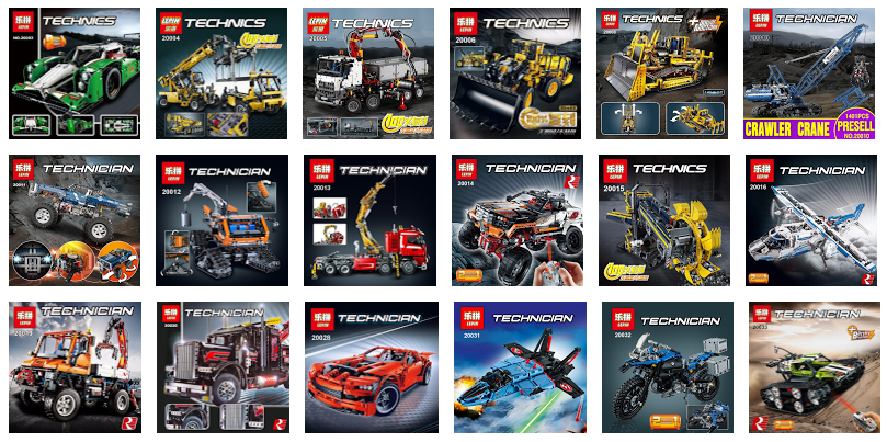It's Not Lego!: Lepin Technic Series Building Set List