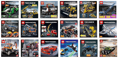 its not lego, lepin technic sets