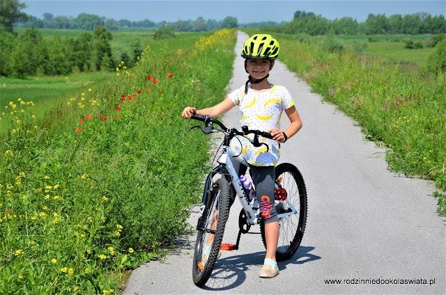 Małopolska z dziećmi- Velo Dunajec z Ostrowa do Wietrzychowic