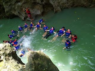 Body rafting ciwayang