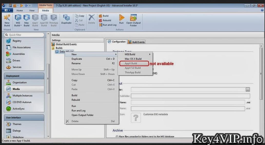 Advanced Installer Architect 12.1 Full Key,Phần mềm tạo và đóng gói file cài đặt dễ dàng