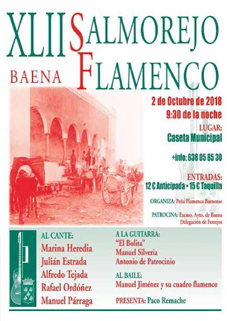 XLII Salmorejo Flamenco Baena