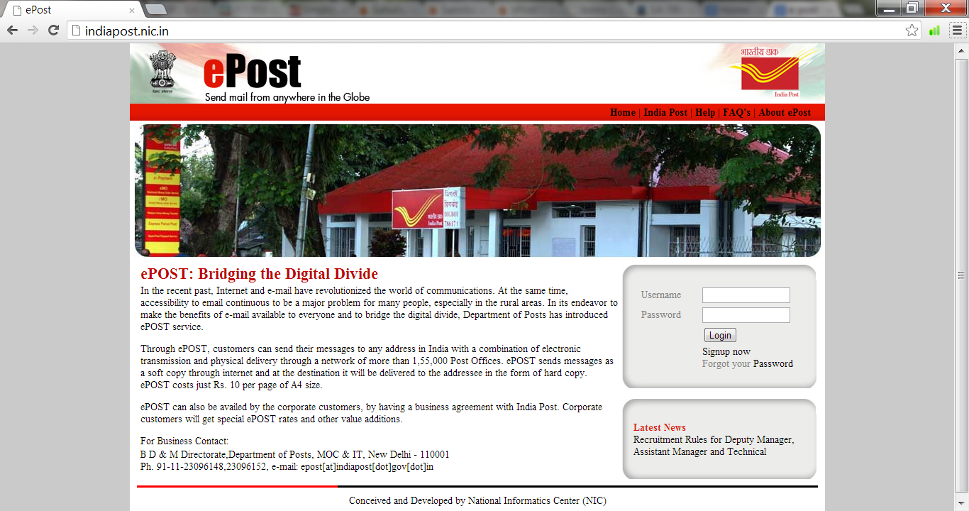 ePost New website-Updated features   PO TOOLS