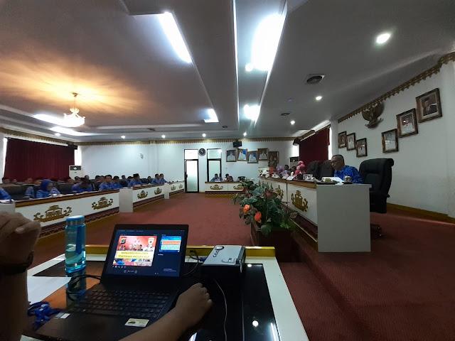 Polres Tanggamus Sosialisasi Penerimaan Polri TA ke Pejabat Utama Pemkab
