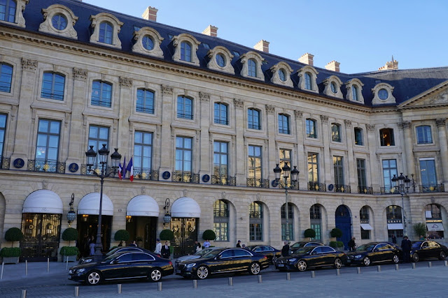 Hotel Ritz Paris na Place Vendôme
