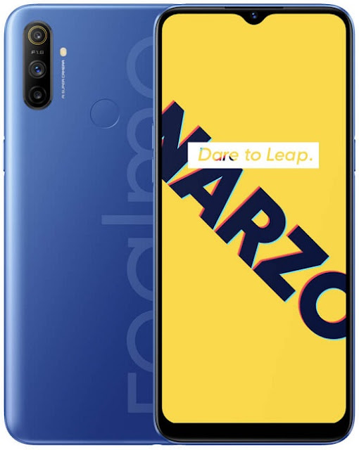 Realme Narzo 10A Launched With 4GB RAM, 64GB ROM Storage Variant