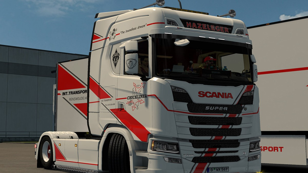 Chickliner Skin Scania 2016