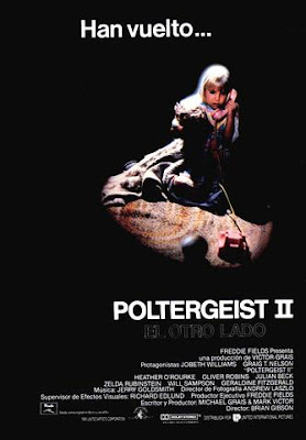 Poltergeist II: The Other Side 1986 DVDR NTSC Latino