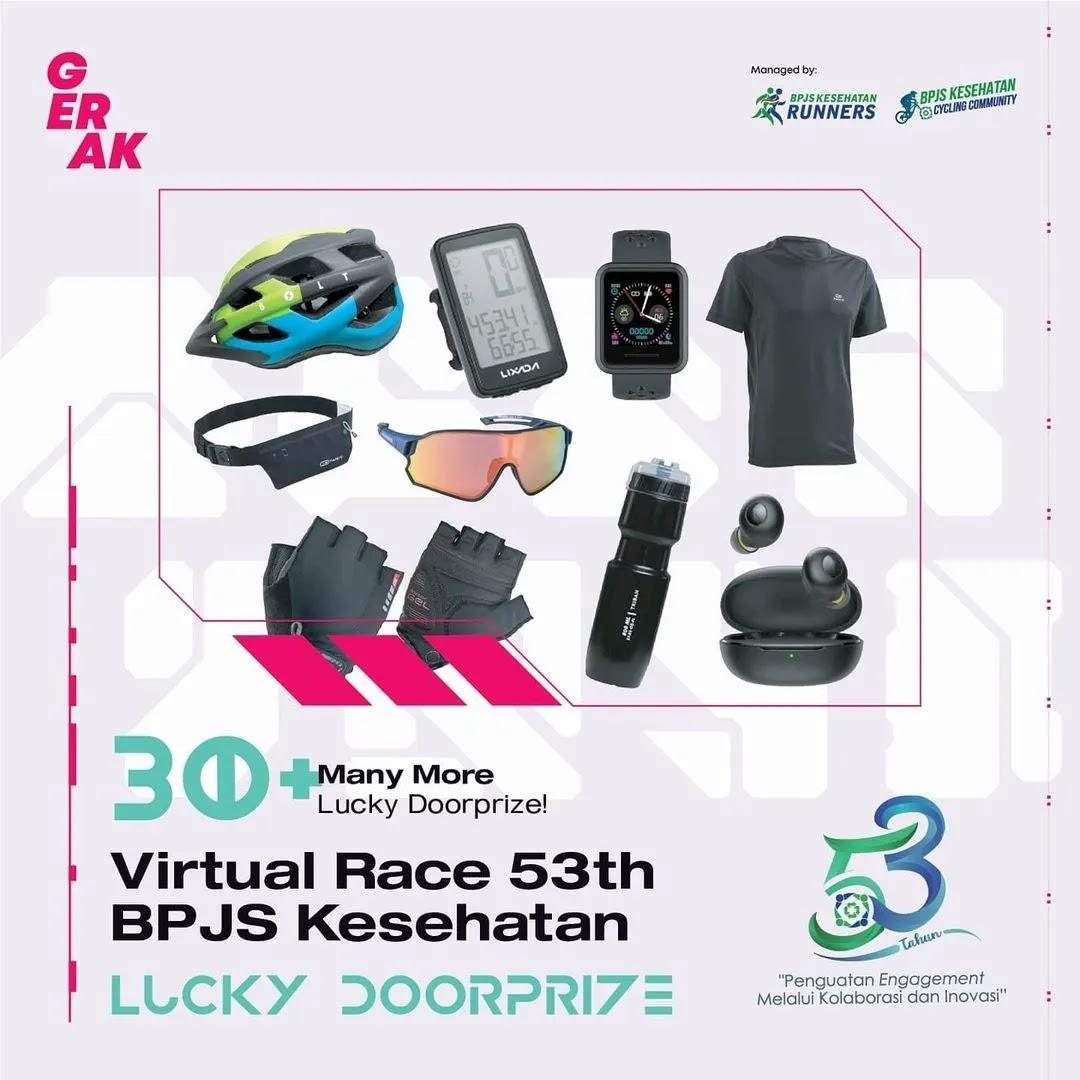 Doorprize � Virtual Race 53th BPJS Kesehatan • 2021