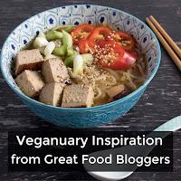 A bowl of Vegan Ramen with chopsticks next to it.