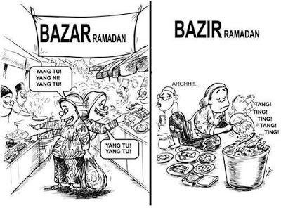 Gambar Bazar Ramadan