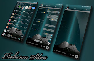 Mountains Theme For YOWhatsApp & Fouad WhatsApp By Robsson