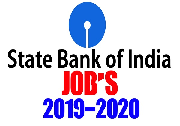 SBI Recruitment 2019 | State Bank Of India Jobs
