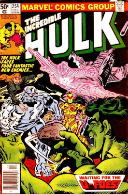 Incredible Hulk #254, the U-Foes