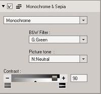 OV3 Monochrome & Sepia tool