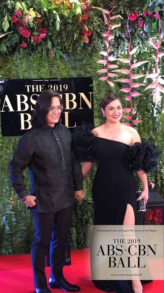Real-life couple Ryan Agoncillo and Judy Ann Santos