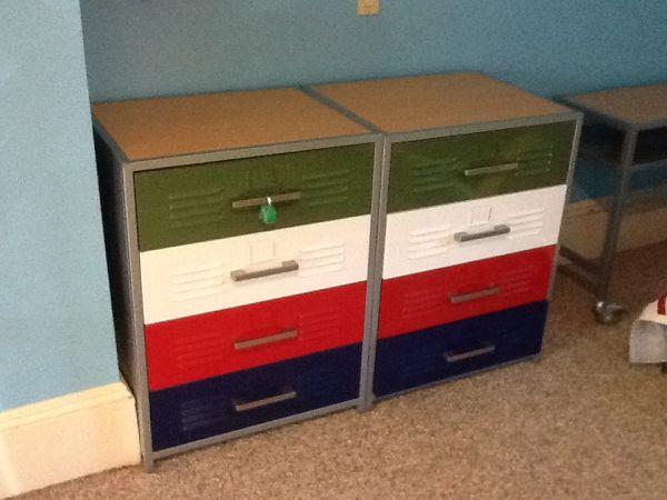 Lovely Pottery Barn Locker Furniture O2 Pilates Dg29