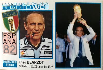 Figurina Bearzot Edizioni Amatoriali Qubotondo