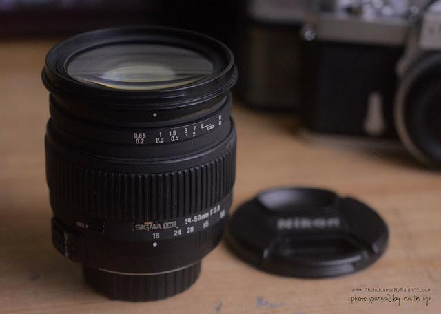 Sigma 18-50 mm f/2.8 Macro HSM