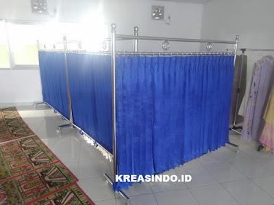Hijab Masjid pesesan ke 2 PT Bonecom Tricom Bekasi