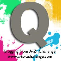 Q is for Quartz Grey #AtoZChallenge